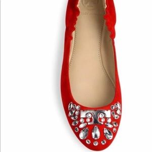 Tory Burch Delphine Suede 🩰 Flats